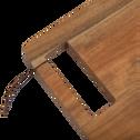 Planche à découper rectangulaire en acacia-CEOU