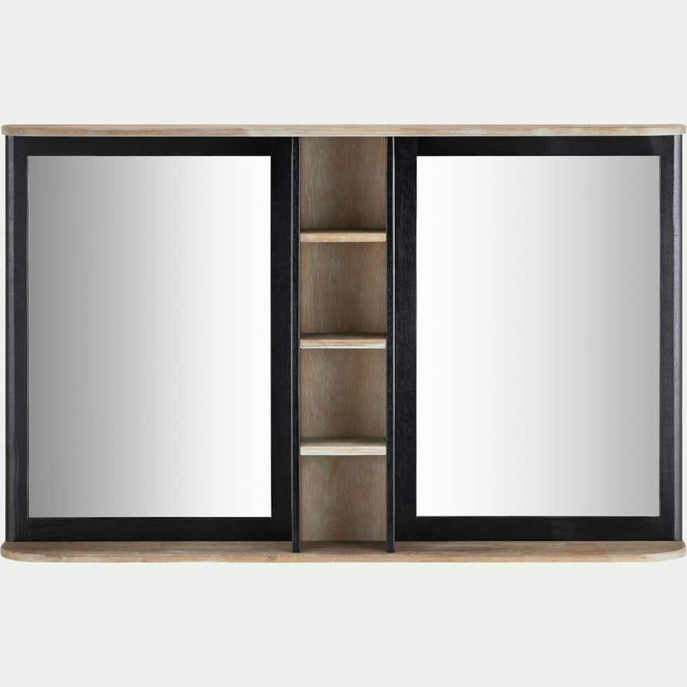 Miroir Salle De Bain 120 Cm pitaya - miroir rectangulaire de salle de bains en acacia massif 120cm