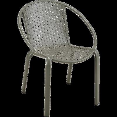 Ensemble de jardin fauteuil & table - Plusieurs couleurs-CLEMENCE