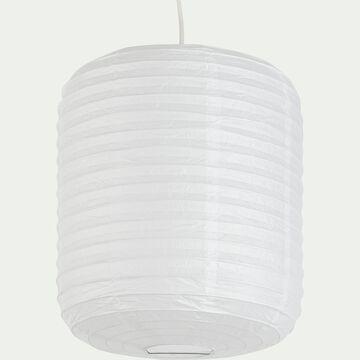 Suspension en papier D27xH32cm - blanc-ALOU