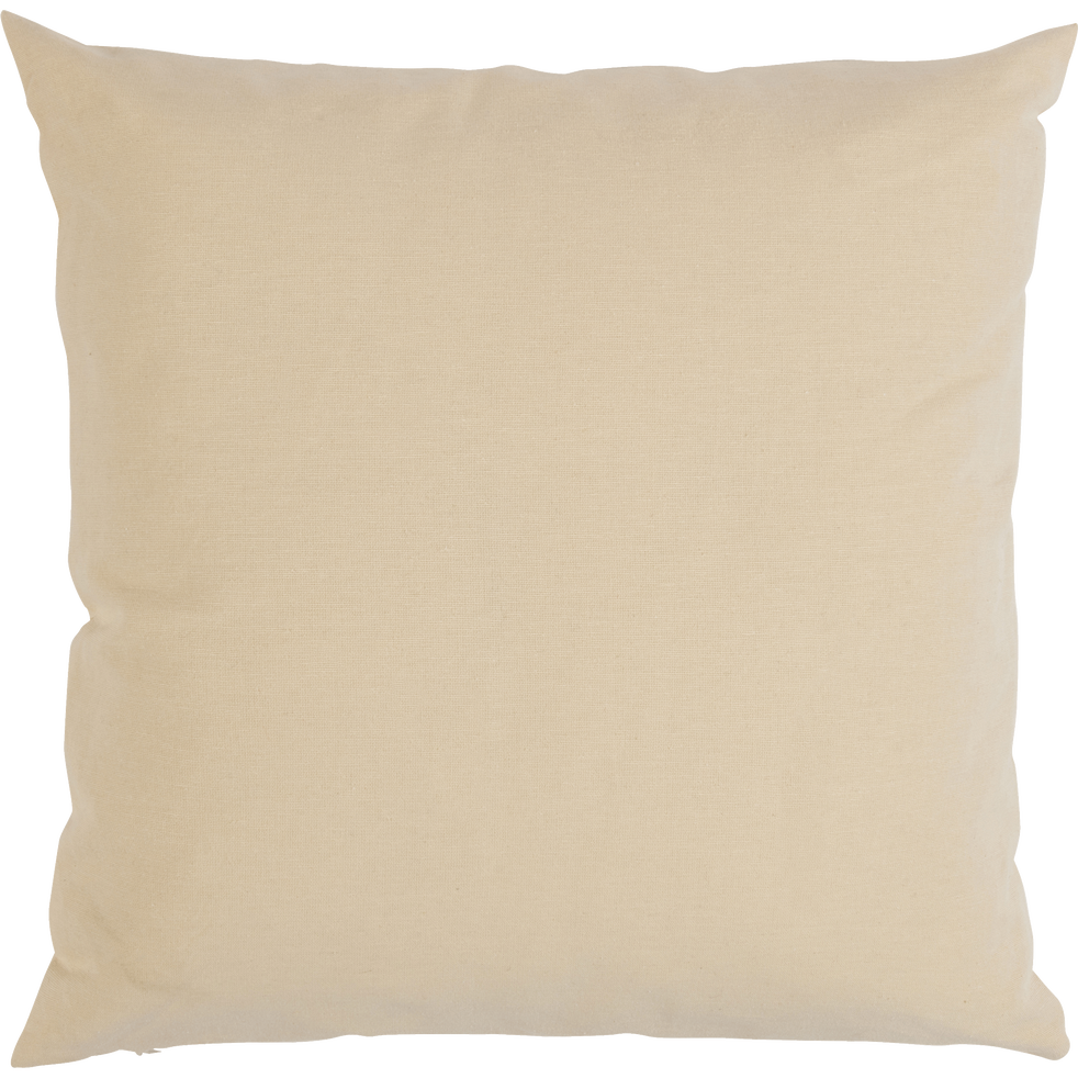coussin de sol en coton beige roucas 70x70cm calanques catalogue storefront alin a alinea. Black Bedroom Furniture Sets. Home Design Ideas