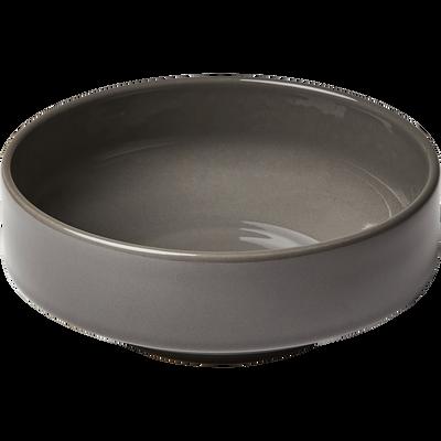 Coupelle en faïence gris restanque D15,5cm-VADIM