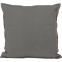 Coussin en coton gris foncé 40x40cm-ALMERA