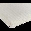 Drap de douche en viscose et coton 70x140cm blanc ventoux-AUBIN