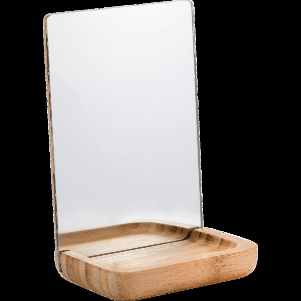 miroir de salle de bains poser rectangulaire nais petits miroirs de salle de bains alinea. Black Bedroom Furniture Sets. Home Design Ideas