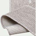 Tapis à lisière intérieur et extérieur - gris 160x230cm-basten