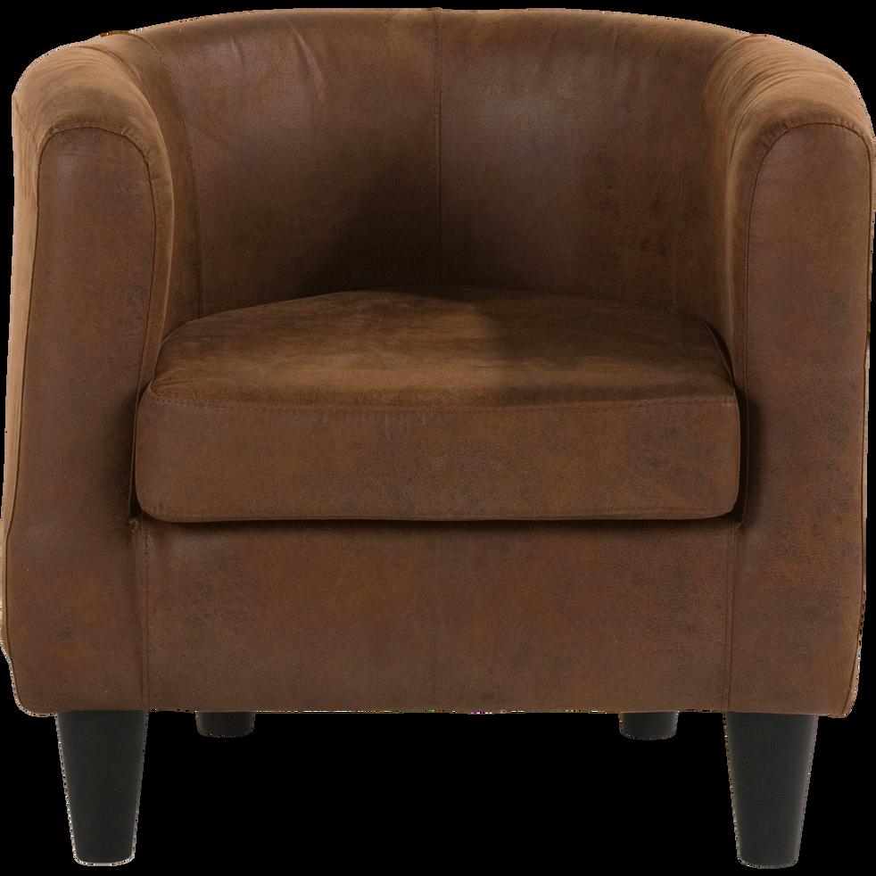 fauteuil club choco vieilli tod fauteuils et poufs alinea. Black Bedroom Furniture Sets. Home Design Ideas