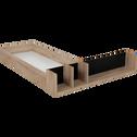 Tiroir et niche pour lit Castel en 160x200cm-CASTEL