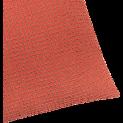 Coussin en coton tissé orange 45x45cm-GILBERT