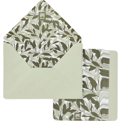 Lot de 20 enveloppes avec cartes laurier-LAURIER