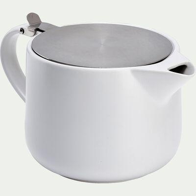 Théière en grès blanc 1,5L-CELTON
