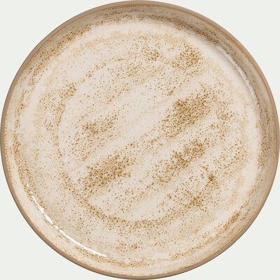 Service de vaisselle en faïence - marron