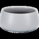 Coupelle en porcelaine gris clair D12.5cm-OSAKA