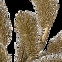 Branchage artificiel de sapin doré H80cm-BEIDA