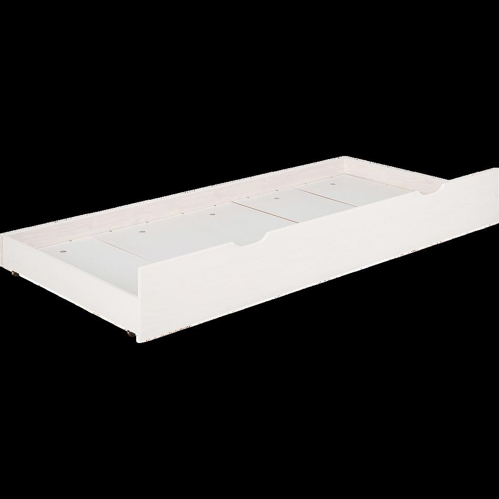 Tiroir de lit blanc-GIGARO