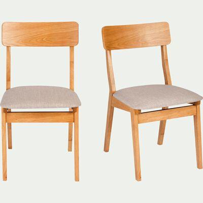 Chaise en tissu - gris clair-TAMARIS