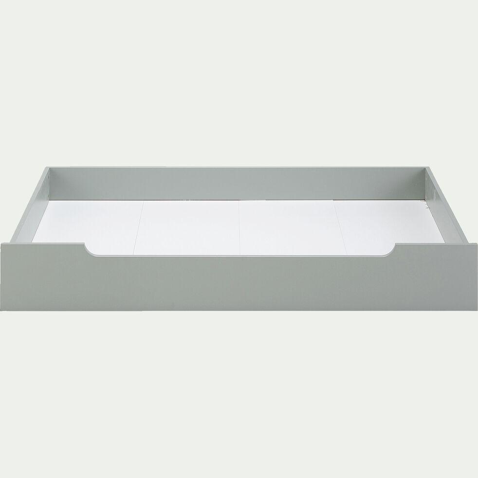 Tiroir de lit en bois - vert olivier-POLLUX