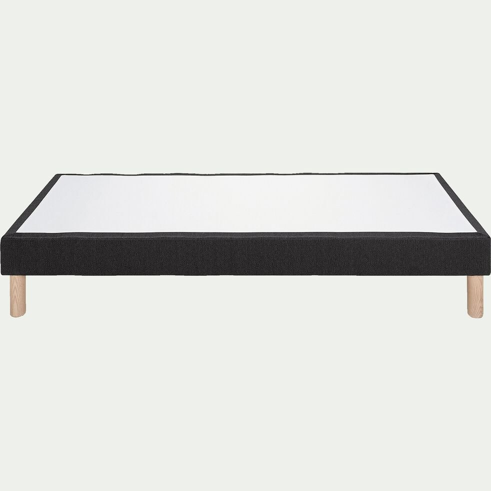 Sommier tapissier 90x200cm gris anthracite-SORMIOU