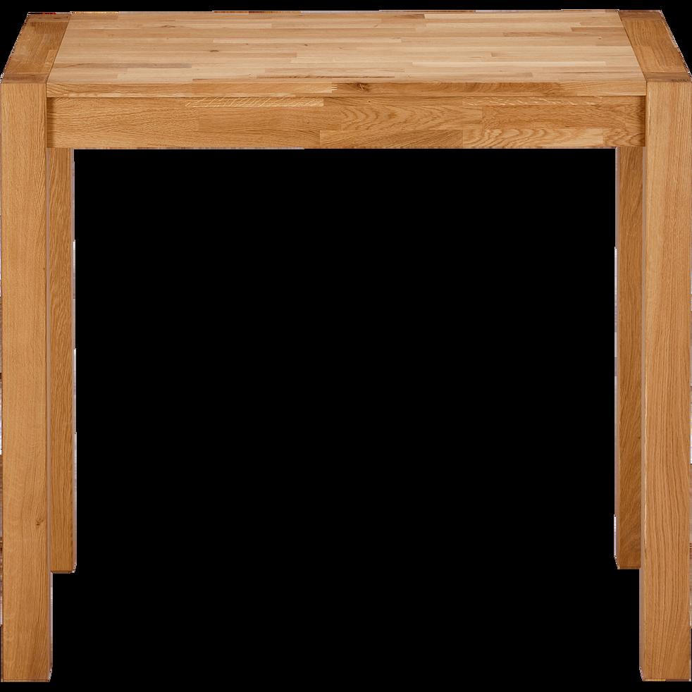Table haute en chêne L120cm-ANKARA