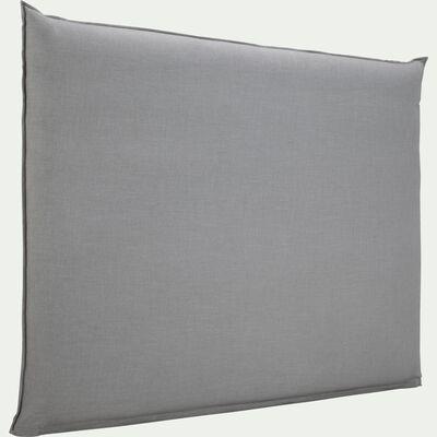 Housse pour tête de lit plume Gris restanque - L180 cm-PLUME