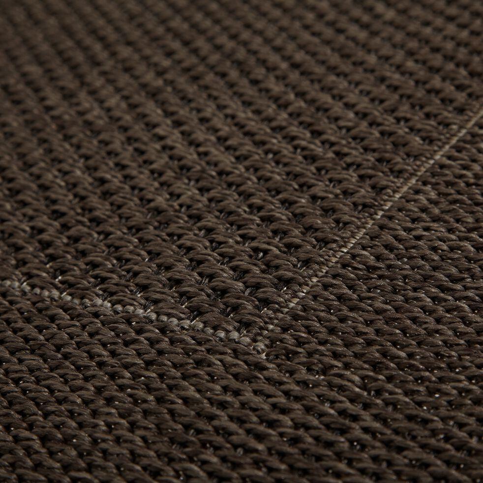 Tapis intérieur et extérieur - marron 140x200cm-Kelly