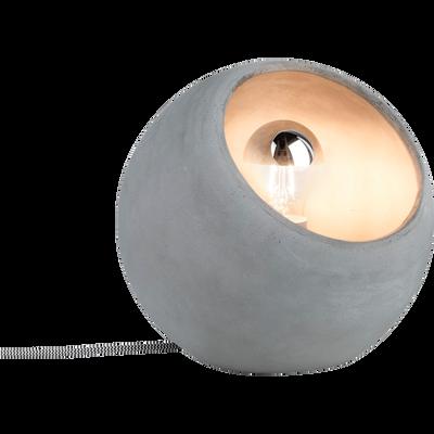 Lampe à poser en béton D23cm-INGRAM