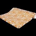 Papier peint intissé motif jasmin beige nèfle 10m-JASMIN