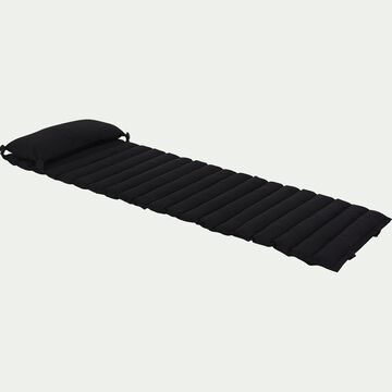 Matelas de plage - noir 60x170cm-JAMMAL
