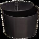 Cocotte en fonte D24 cm noir (tous feux dont induction)-EVE