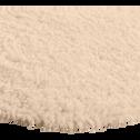 Tapis de bain 40x60cm uni beige ovale-OVO