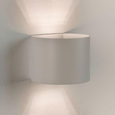 Applique en aluminium blanc 10x11x13cm-XIO