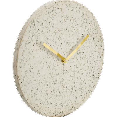 Horloge murale en terrazzo D28 cm-STONE