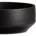 Coupelle en porcelaine noire D14,2cm-TARA