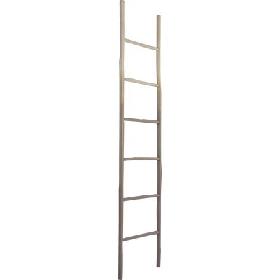 Porte serviette échelle en bambou vert cèdre-AIGO