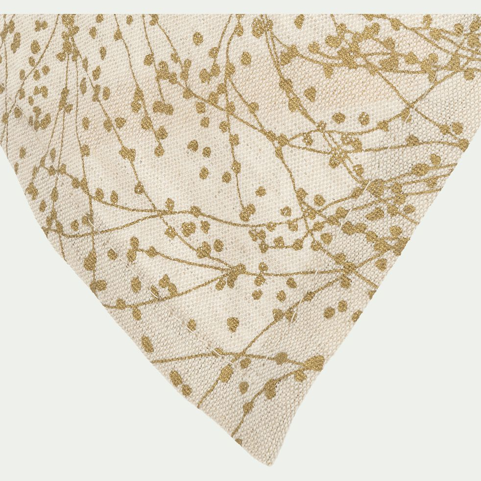 Torchon métis blanc 50x70cm-GINKO