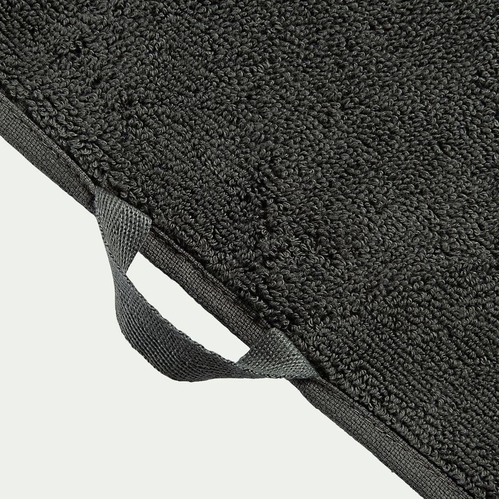 Drap de bain en coton - vert cèdre 100x150cm-Ryad