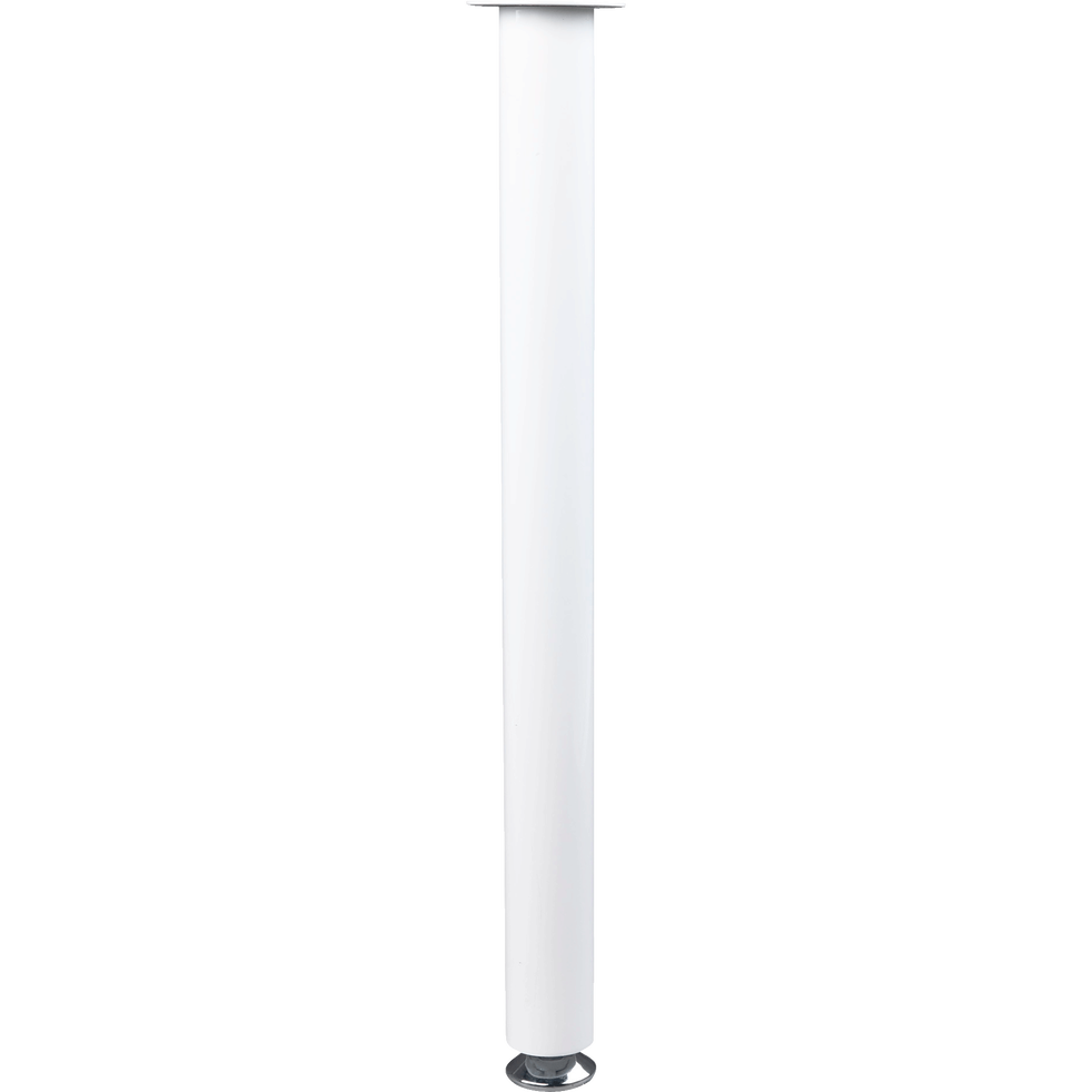 Pied pour plateau de bureau Blanc h70 cm-TIMEO 2