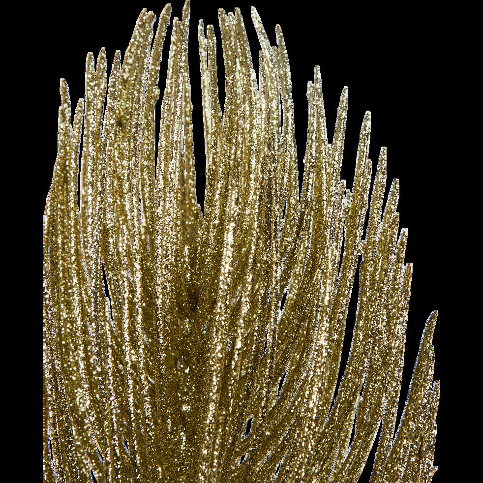 Branchage artificiel doré L55cm-SIEBEL