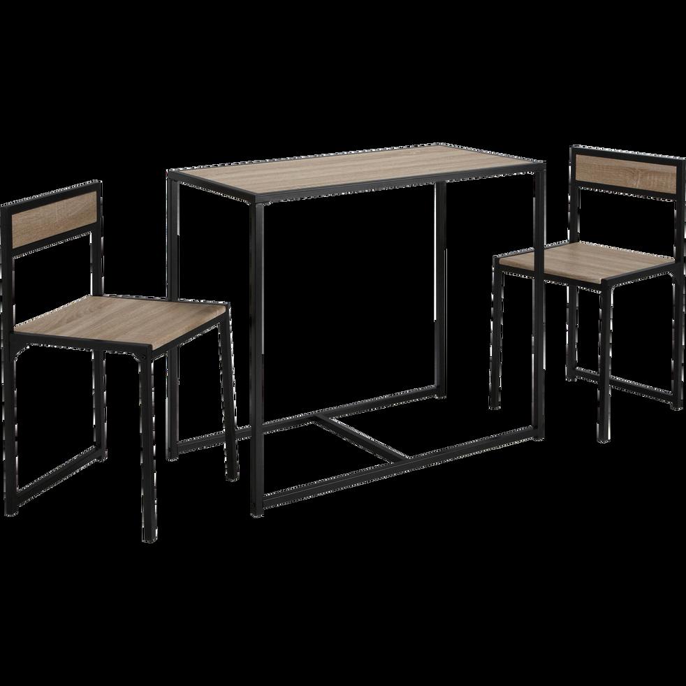 Set 2 Table Chaises D'une Bertille Avec nw08POk