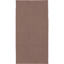 Descente de lit en coton rose argile-CAMELIA