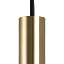 Suspension en métal doré D10xH95cm-FERNANDE