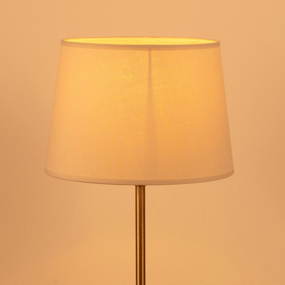 Abat-jour tambour beige roucas-MISTRAL