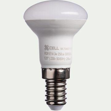 Ampoule LED blanc chaud D3,9cm culot E14-REFLECTEUR