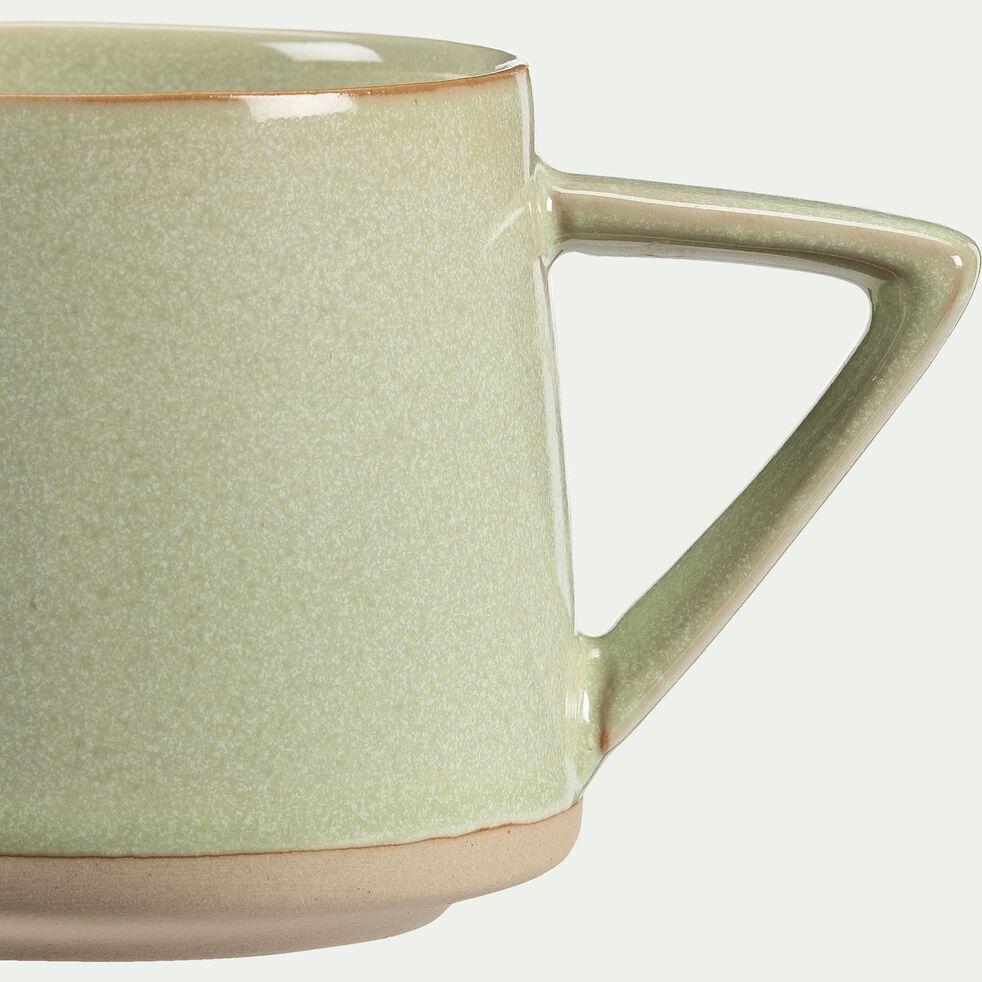 Mug en grès - vert - 30cl-ESQUIROU