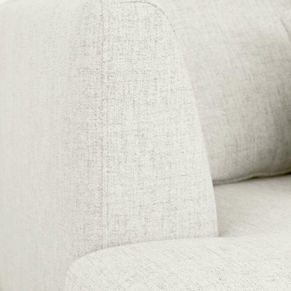 Canapé 5 places fixe gauche en tissu - beige roucas-TESSOUN