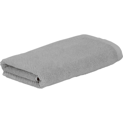 Serviette de bain gris restanque 50x90cm-COLINE