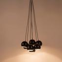 Suspension en métal noir 7xD18cm-BALL