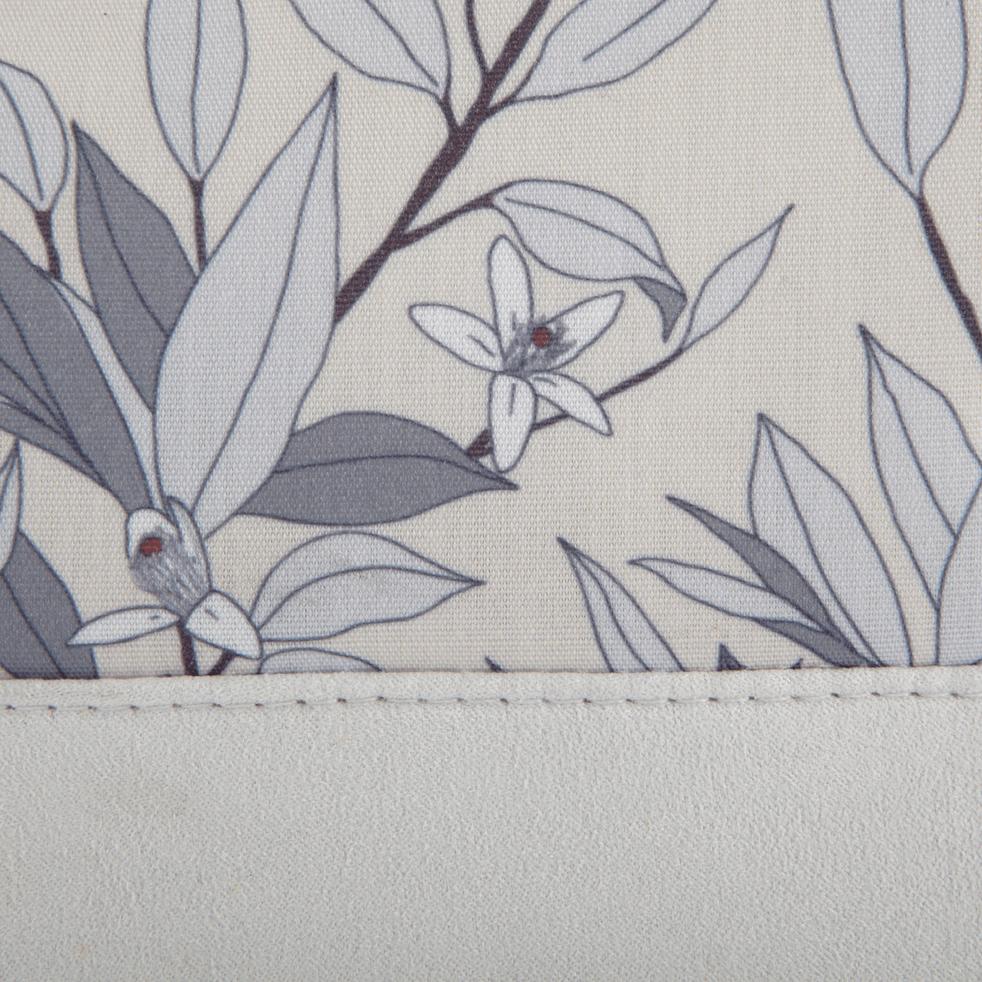 Trousse de toilette motifs fleurs d'oranger-ALEXIA