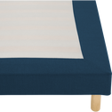 Housse pour sommier Topaze Bleu figuerolles - 160x200 cm-TOPAZE
