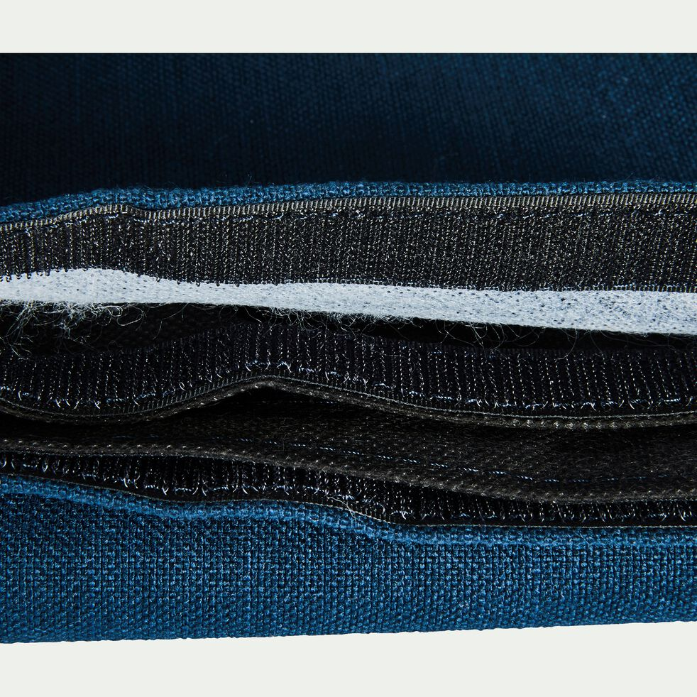 Housse pour tête de lit Topaze Bleu figuerolles - L160 cm-TOPAZE